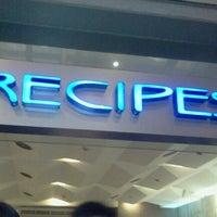 Photo taken at Recipes by Café Metro by JennyPer P. on 11/9/2012