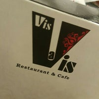 Photo taken at Vis-A-Vis Cafe by Mohammed M. on 5/7/2016