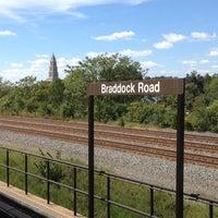 Photo taken at Braddock Road Metro Station by Glenn P. on 9/19/2012