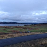 Photo taken at Chambers Bay Golf Course by Mo on 10/21/2012