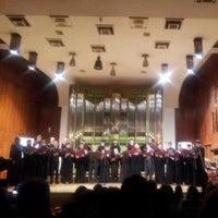Photo taken at Universitatea Națională de Muzică București by alYin a. on 12/6/2012