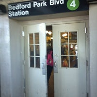 Photo taken at MTA Subway - Bedford Park Blvd/Lehman College (4) by Richard G. on 5/6/2013