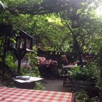 Photo taken at Troubadour by Chrysa B. on 8/15/2015