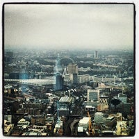 Photo taken at The View from The Shard by Andre F. on 3/24/2013
