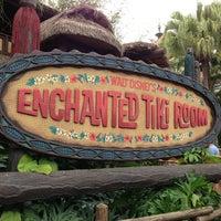 Photo taken at Walt Disney's Enchanted Tiki Room by Michael on 3/11/2013
