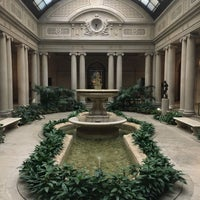 Photo taken at The Frick Garden Court by Chiara on 12/3/2017