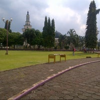 Photo taken at Taman Raflesia (Alun Alun Ciamis) by Nimas c. on 6/1/2013
