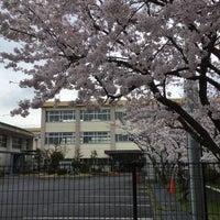 Photo taken at 栗東市立大宝小学校 by Crystal C. on 4/3/2016