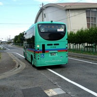 Photo taken at 草津東高校 バス停 by ゆる温泉ソムリエ C. on 8/21/2013