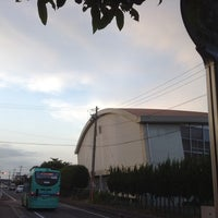 Photo taken at 草津東高校 バス停 by ゆる温泉ソムリエ C. on 6/9/2014