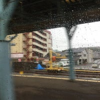 Photo taken at 早岐駅 1-2番ホーム by Crystal C. on 6/11/2015