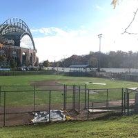 Photo taken at Helfaer Field by Nick M. on 11/3/2016