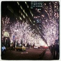 Photo taken at 丸の内仲通り by Maiky on 1/11/2013
