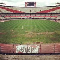 "Photo taken at Estadio Antonio Vespucio Liberti ""Monumental"" (Club Atlético River Plate) by Dmitry K. on 10/1/2013"