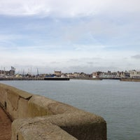 Photo taken at Lowestoft Harbour by David S. on 10/20/2012