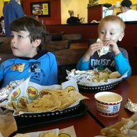 Photo taken at Moe's Southwest Grill by Amanda I. on 10/25/2014