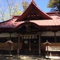 Photo taken at 八王子神社 by Satsuki N. on 5/2/2014