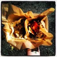 Photo taken at Urban Street Grill Korean BBQ Truck by Kim F. on 10/27/2013