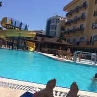 7/6/2017 tarihinde Mehrak M.ziyaretçi tarafından Çamyuva Beach Hotel'de çekilen fotoğraf