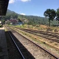 Photo taken at Haputale Railway Station by Denis P. on 8/3/2017