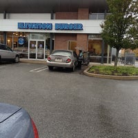 Photo taken at Elevation Burger by Britt I. on 10/15/2012