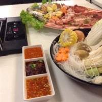 Photo taken at The Shabu Buffet by Bombam W. on 2/11/2015