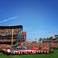 Photo taken at AT&T Park by Paul A. on 4/13/2015