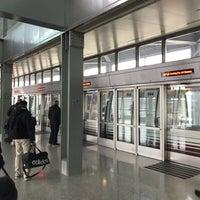 Newark Airtrain Rail Link Terminal Newark Airport And