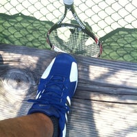 """Photo taken at bayview park tennis courts by Ricky """"Fatts"""" M. on 5/8/2014"""