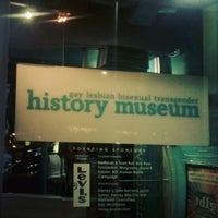 Photo taken at GLBT History Museum by Aaron Matthew A. on 9/11/2015