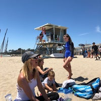 Photo taken at Harbor Beach by Amy B. on 7/25/2018
