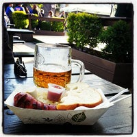 Photo taken at Bohemian Hall & Beer Garden by Petr W. on 5/5/2013