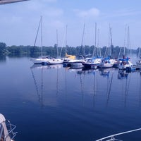 Photo taken at CFB Trenton Yacht Club by Nick M. on 7/3/2013