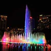 Photo taken at Kuala Lumpur City Centre (KLCC) Park by Leon M. on 5/12/2013