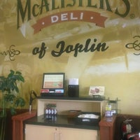 Photo taken at McAlister's Deli by Jason R. on 9/20/2013