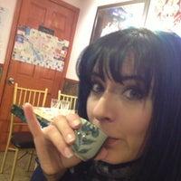 Photo taken at Jackey Cafe by LaLa L. on 3/8/2013