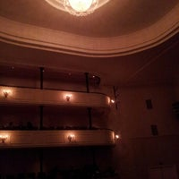Photo taken at Teatro Municipal José Bohr by Daniela C. on 11/7/2012