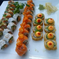 Photo taken at Banbu Sushi Bar & Grill by Linda M. on 5/27/2013