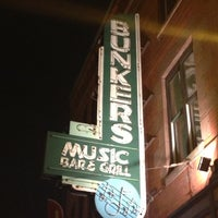 Photo taken at Bunker's Music Bar & Grill by Gary S. on 10/21/2012