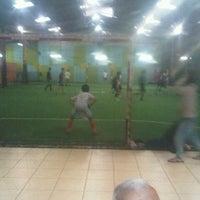 Photo taken at Pro Futsal - Pluit by Frente G. on 10/12/2012