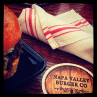 Photo taken at Napa Valley Burger by Franz W. on 9/15/2013