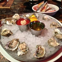 Photo taken at Racks Oyster And Steak House by Tara B. on 5/27/2013