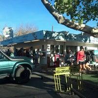 Photo taken at Milt's Stop & Eat by matt r. on 11/4/2012
