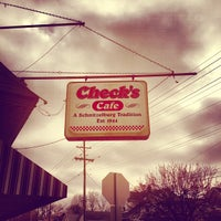 Photo taken at Check's Cafe by Michael C. on 12/28/2012