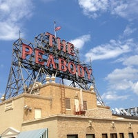 Photo taken at The Peabody Hotel by Jason M. on 5/27/2013