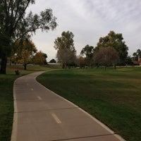 Photo taken at Scottsdale Greenbelt by Lisa G. on 12/26/2012