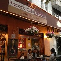 Photo taken at Rococó Café Espresso by Aquiles G. on 4/11/2013