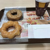 Photo taken at Mister Donut by y k. on 10/23/2016