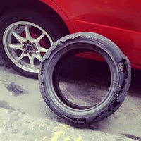 Photo taken at RTS Autowheelshop by Joderick V. on 1/31/2014