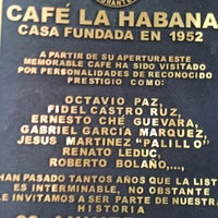 Photo taken at Café La Habana by Edgar S. on 7/4/2013